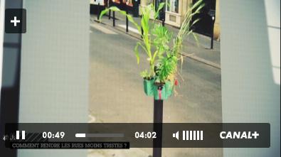 """Potogreen à Canal Plus / chronique """"La Vie Autrement"""" - création Paule Kingleur / Paris Label"""