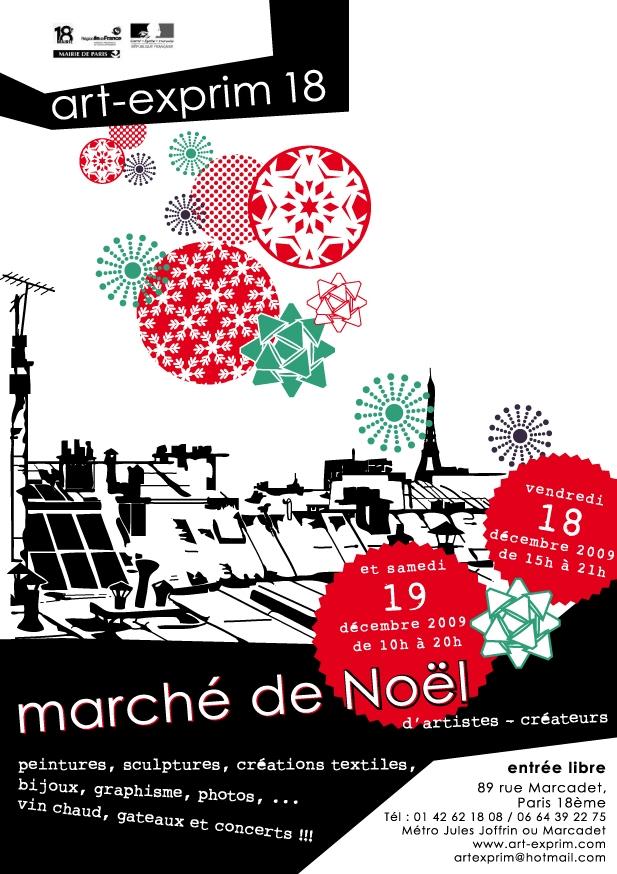 Marché Noël Art-Exprim 2009