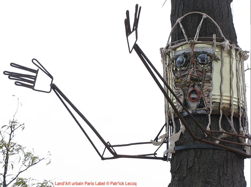 Philemon et Baucis / Une image - Installation Cyrille Bosc