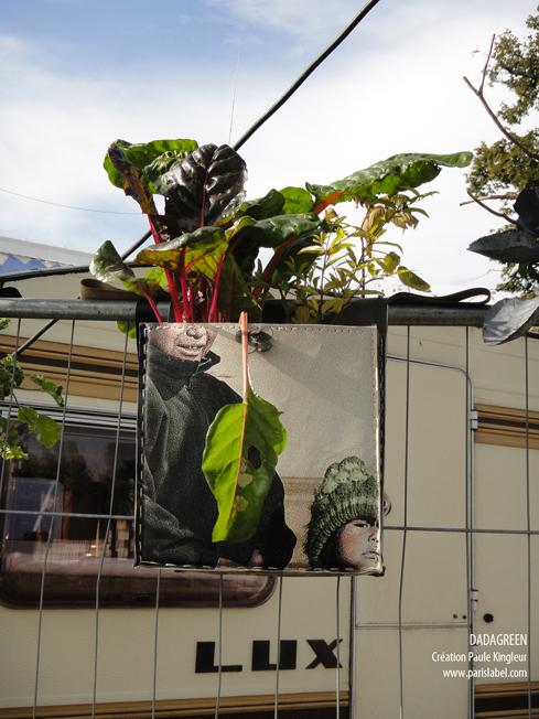 Exposition de Dadagreen au Village de Cirque - pelouse de Reuilly dans le 12e - Création Paule Kingleur pour Paris Label