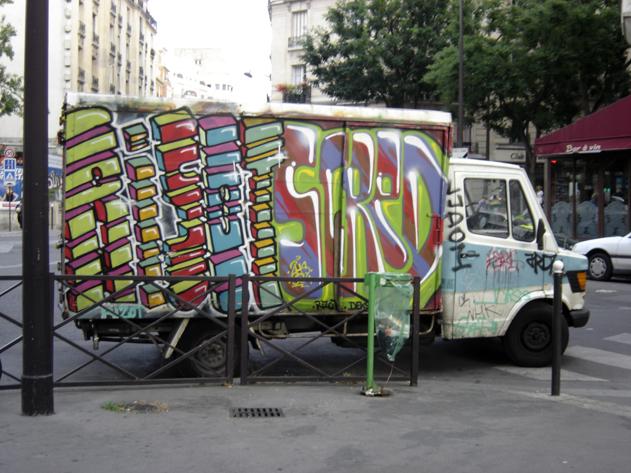 graff camion 12e