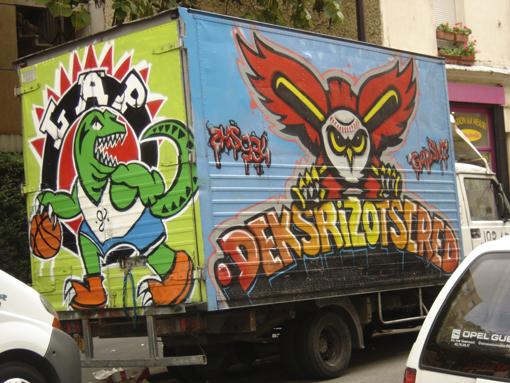 graff camion gap + deksrizot