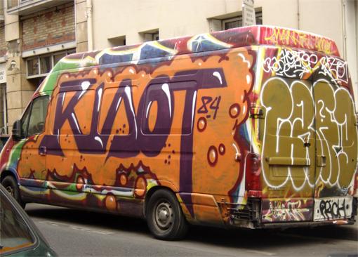 graff truck 84