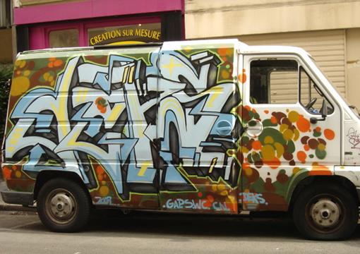 graff truck création sur mesure