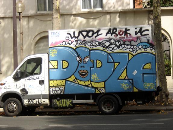 graff truck dodze