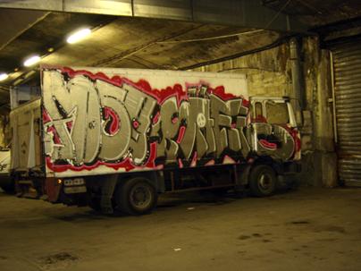graff truck entrepot de bercy