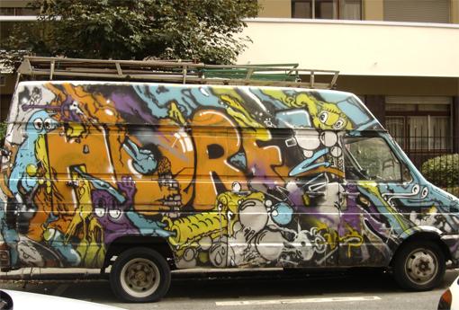 graff truck rue beccaria