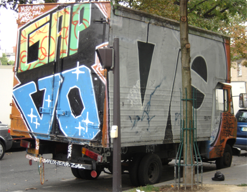 graffiti truck gap VO