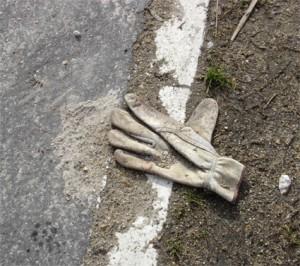 gant creme à la frontière blanche - porte de vincennes tramway