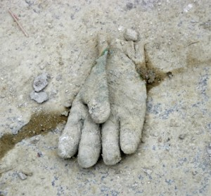 gant invisible - chantier tram porte dorée 12e