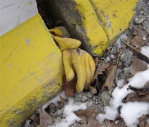 gants jaunes porte de montreuil - travaux tramway paris