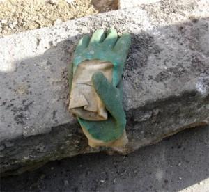 gants verts porte dorée tramway paris