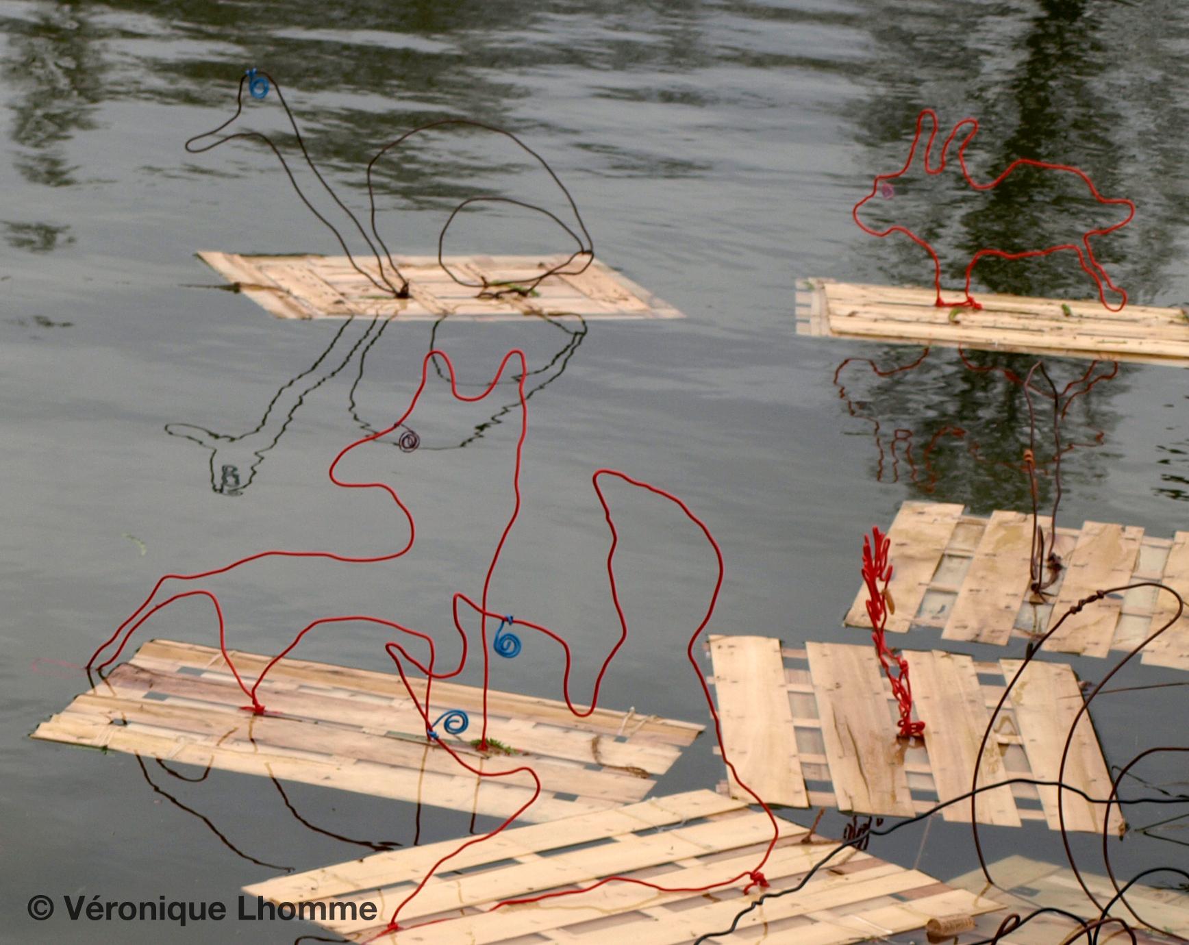 104 ecoradeaux sur lac daumesnil, biodiversité paris label 2010