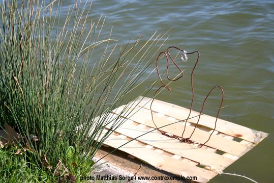 ecoradeau ecureuil sur lac daumesnil 12e - photo matthias sorge - paris label 2010
