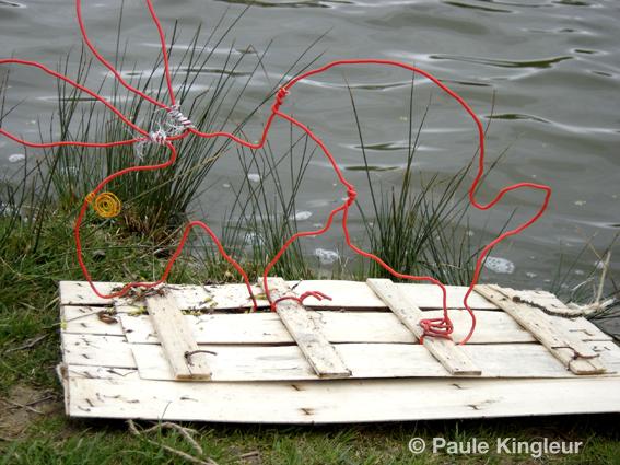 lapin avant mise à l'eau : ecoradeau paris label , © Paule kingleur