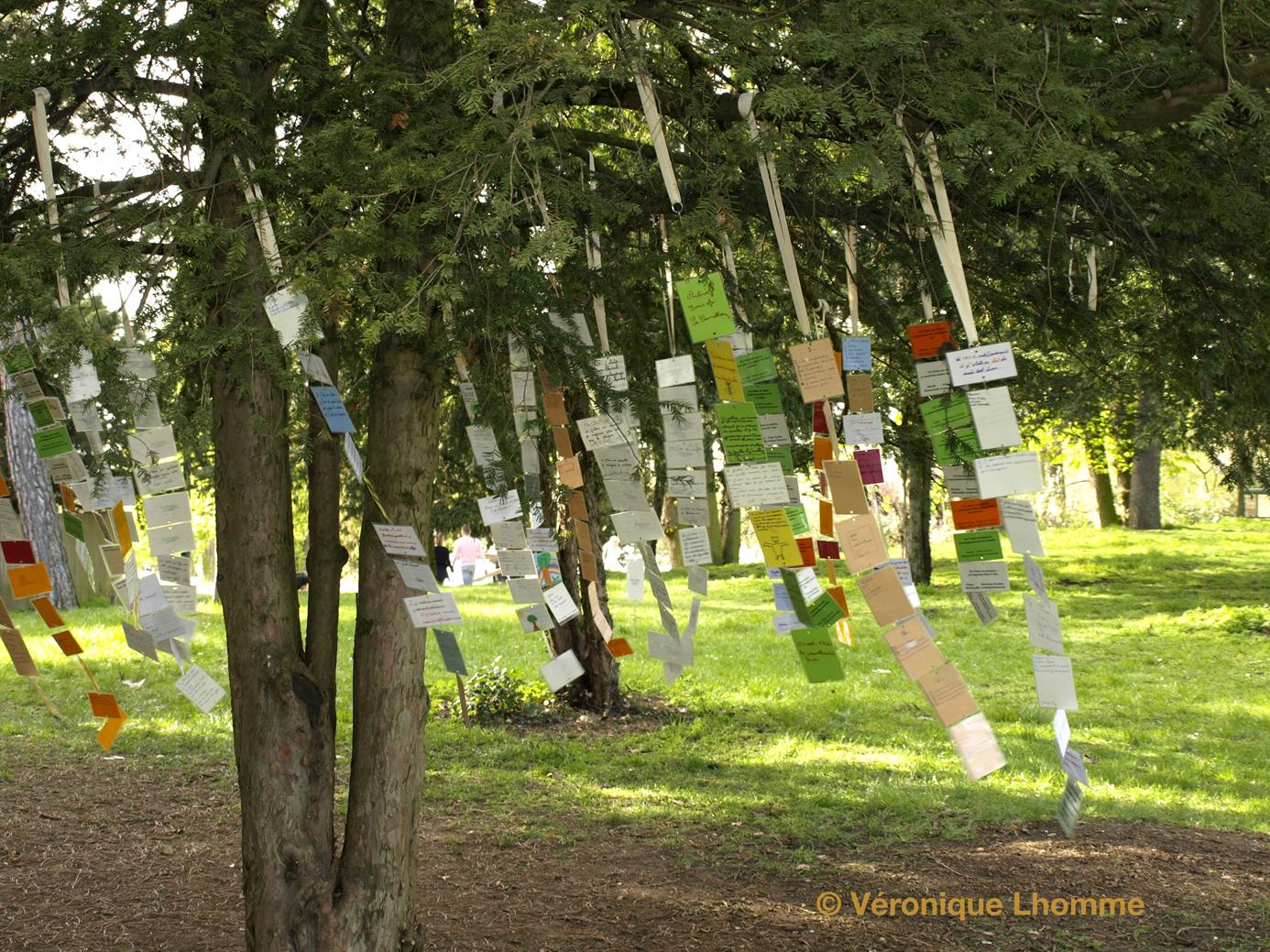 l'arbre à palabres dans le vent : VL, poèmes  biodiversité à paris / paris label 2010