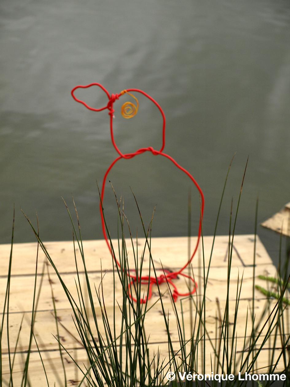 petit poussin et non pingouin- écoradeau paris label : © V. Lhomme