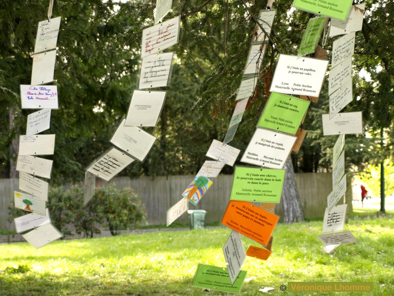 poèmes biodiversité paris label 2010 / arbre à palabres au bois de vincennes