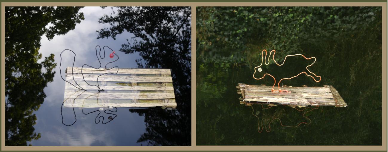 Les ecoradeaux de paris Label sont au Parc de bagatelle pour les Journées du patrimoine 2010 à Paris - photo paule kingleur