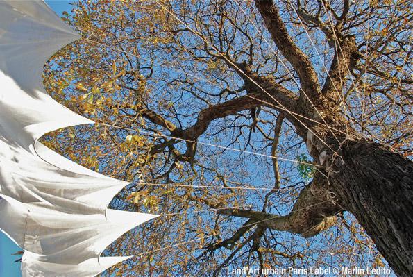 Habit d'arbre - Installation Jean-Luc Guin'Amant