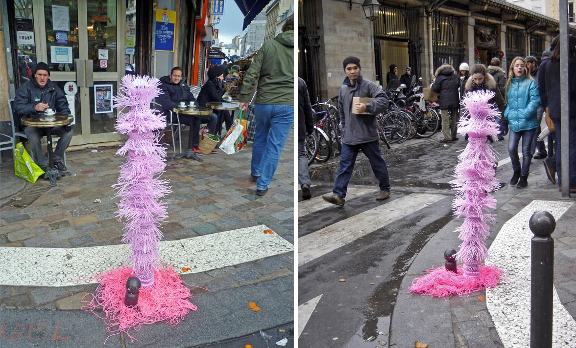 Potorose d'Aligre de Paule Kingleur / détournement urbain de Paris Label