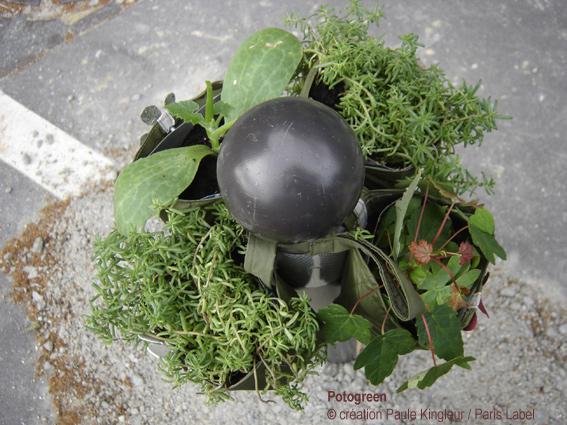 potogreen ou la végétalisation d'un quartier lancé par Paris Label / Paule Kingleur