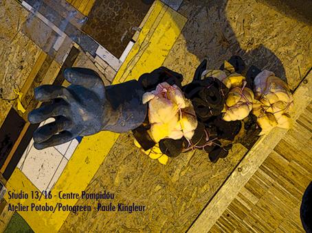 Potobo au Centre Pompidou - Atelier Potobo/Potogreen de Paule Kingleur / Paris Label au Studio 13/16