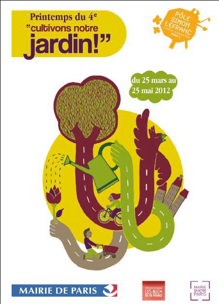 Cultivons notre jardin : Conférence-atelier Potogreen au Pôle Simon Lefranc pour le Printemps du 4e