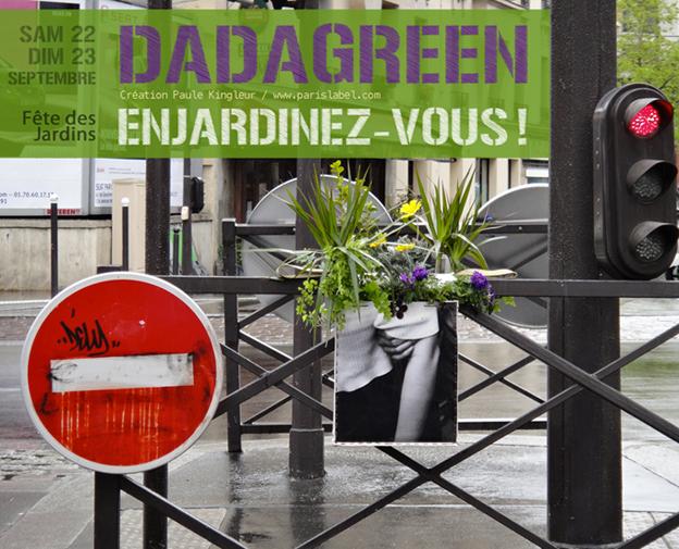 Dadagreen à la Fête des jardins 2012