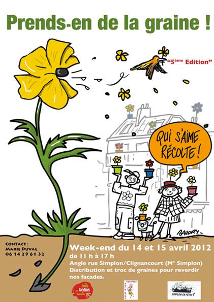 """""""Prends en de la graine"""" dans le 18e : atelier Potogreen par Paule Kingleur / Paris Label"""