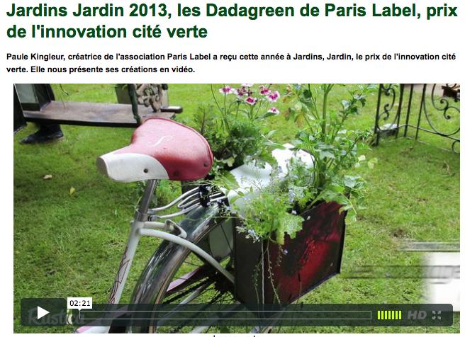 Reportage sur les Dadagreen de Paule Kingleur / Paris Label par Rustica - juin 2013