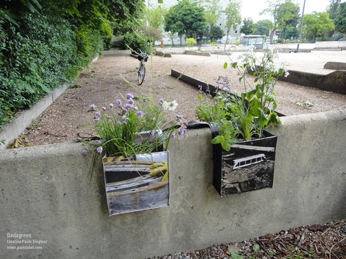 Préparation des Dadagreen pour l'évènement Jardins Jardin - Création Paule Kingleur • Paris Label
