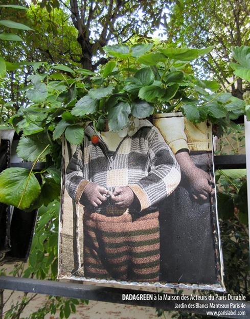 Dadagreen au Jardin des Blancs Manteaux - Maison des Acteurs du Paris Durable