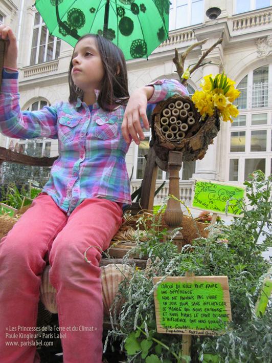Princesses de la Terre et du Climat - Mars 2015 - Création Paule Kingleur