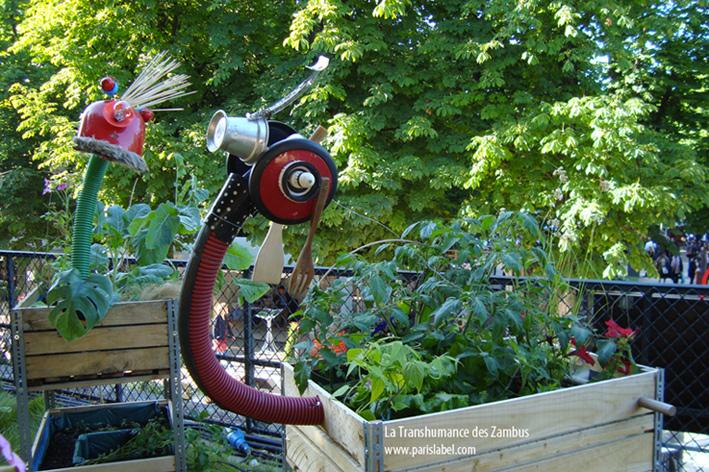 zambus : jardins urbains mobiles - Paule Kingleur / Paris Label