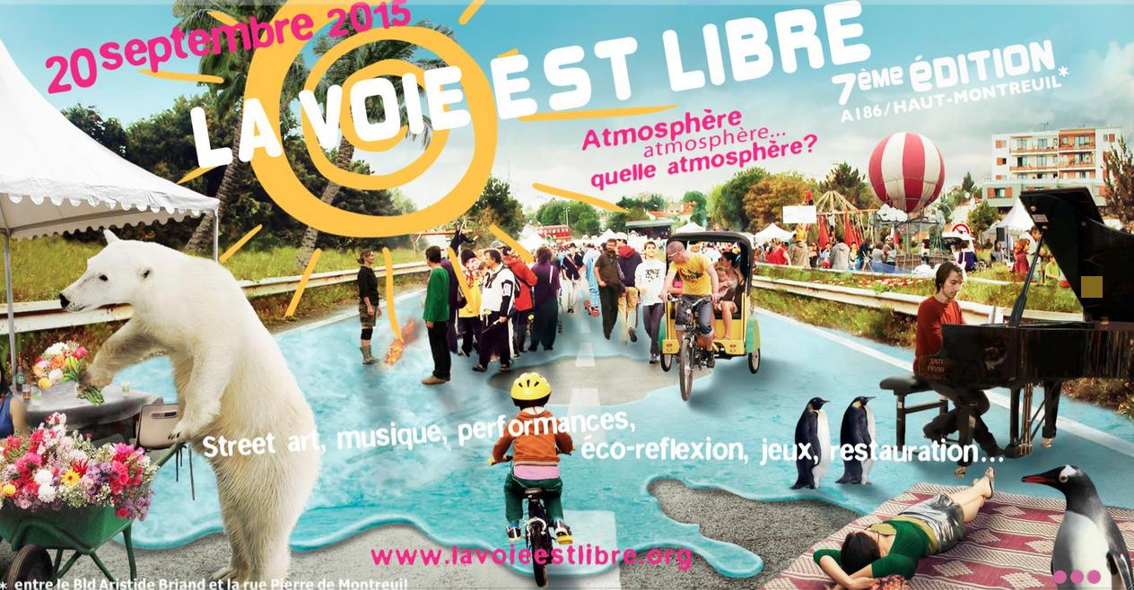 La voie est libre 2015 avec les petits camions-jardins de Paris Label