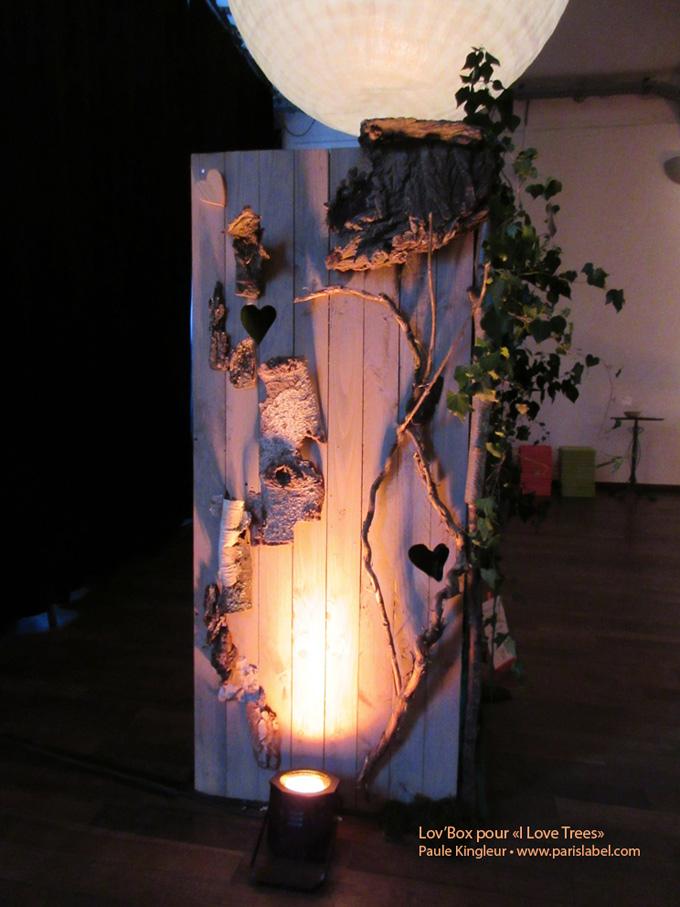 Lov'Box-I Love trees - Fondation Yves Rocher / Paris label