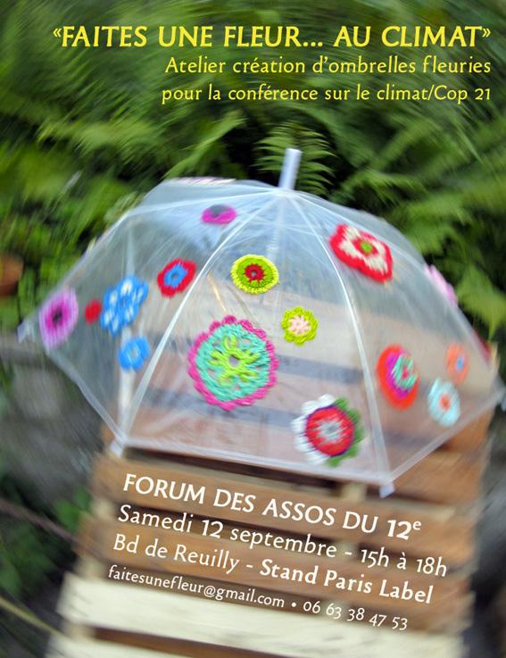 Paris Label et Faites une fleur au climat
