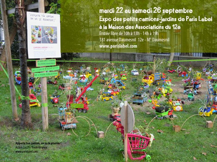 camions-jardins de Paris Label - Mda 12e