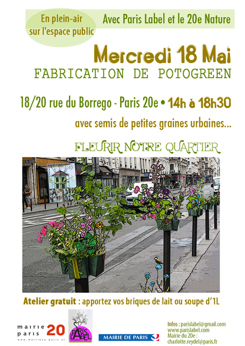 Atelier Potogreen 20e Nature - Fête du printemps