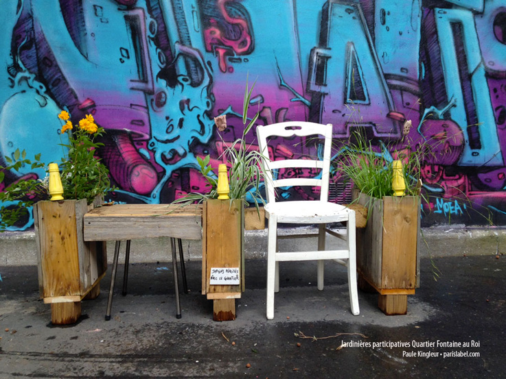 jardinières et pots fleuris Paule Kingleur-Paris-Label- juillet 2016