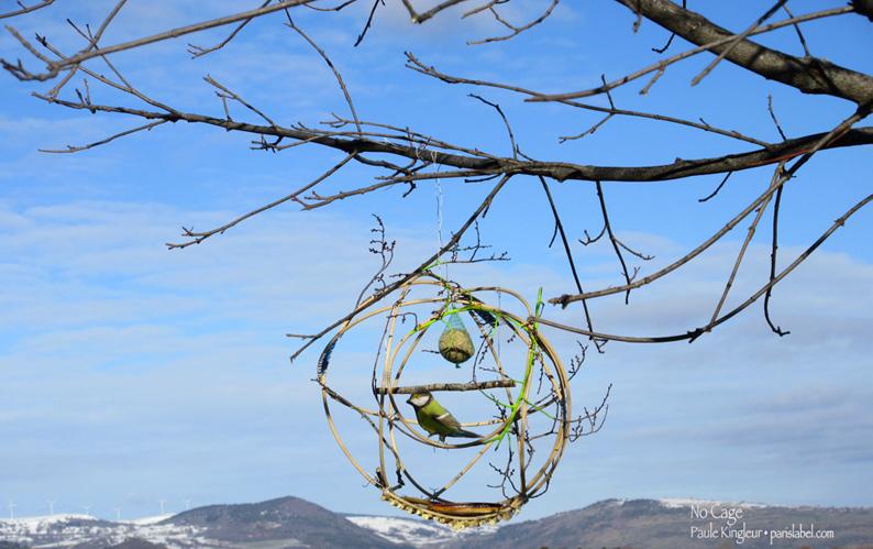 No Cage - volière ouverte imaginée par Paule Kingleur