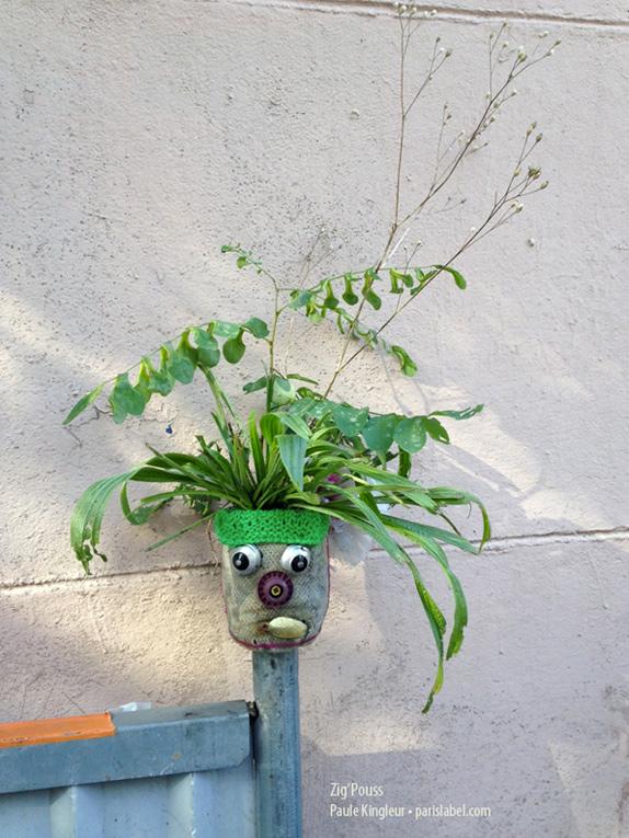 Zig pouss, petit jardin urbain pot à semis de Paule Kingleur
