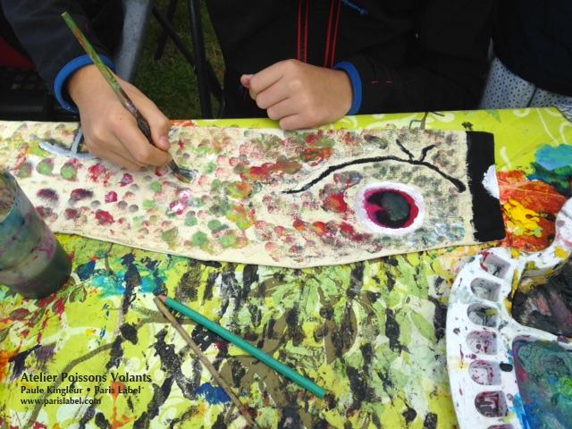 Atelier Poisson Volant - Koinoboris proposés par Paule Kingleur