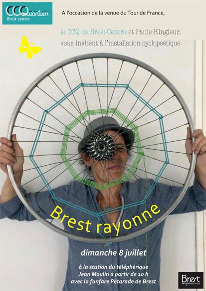 Brest rayonne - Installation roues tissées à Brest